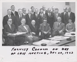 Last Meeting of the Faculty Council