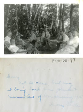 Group at Lake Couchiching, Ontario