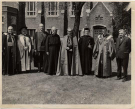 Dignitaries of Convocation 1956