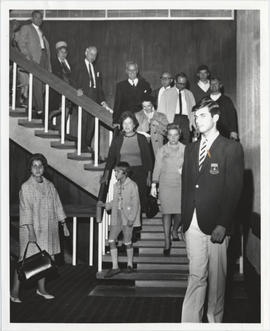 Opening of Hall Building