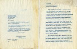 Letter from Florence B. Greene, Director, School of Retailing to George W. Premer, Executive Secr...