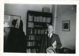 Frederick Owen Stredder in an Office