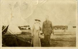 Elizabeth Hingston (Brown) and Harold Hingston
