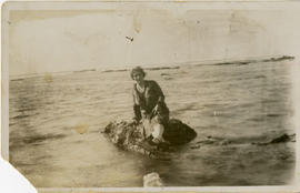 Unidentified Woman at the Sea