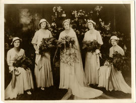 Five daughters of Donald Hingston
