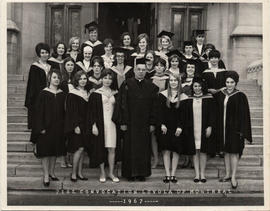 Women Graduates from Convocation 1967