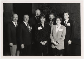 MBA Case Competition 1993 organizers and judges