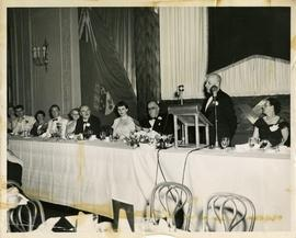 Henry F. Hall Giving an Address at the Sir George Williams College's Graduation Dinner