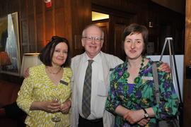 Diane Meilleur, Stephen Taylor and Christine Tuesdale