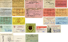 Identification and Membership Cards with Notes