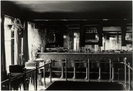 The bar upstairs at Rockhead's Paradise