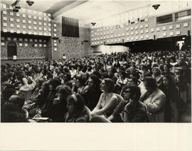 Audience at Joseph Campbell Lecture