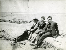 Unidentified Men and Woman on the Beach