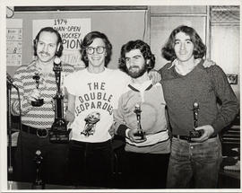 Contestants in 1974 Table Hockey Championship