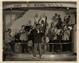 Louis Metcalfe's International Band at Café St-Michel