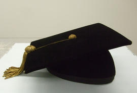 Henry F. Hall's Doctoral Degree Mortarboard