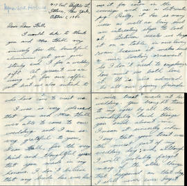 Letter from Mrs. S.W. Holmes