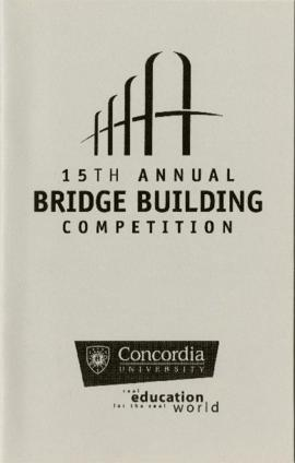 15th Bridge Building Competition