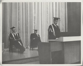 Dedication of Alumni Auditorium