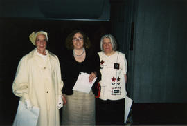 Rita Shane, Nancy Marrelli and Florence Yaffe