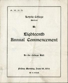 Eighteenth Annual Commencement
