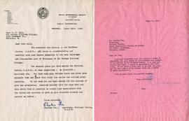 Letter from Charles Fox, Secretary of the Montreal Centre of the Royal Astronomical Society of Ca...