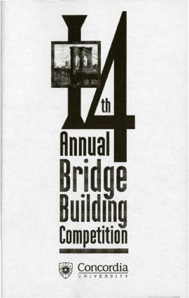 14th Annual Bridge Building Competition
