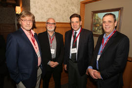 Andy Gollner, Daniel Shapiro, Perry Calce and Daniel Lamoureux