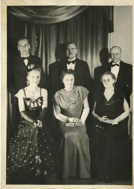 Group Portrait Including Henry F. Hall, Anna Hall, Kenneth E. Norris, and Mae Norris