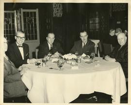 Henry F. Hall at a Dinner Event