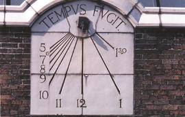 Refectory Building's sundial