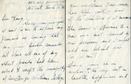 Letter from Gordon Donaldson and  Henry F. Hall's Reply