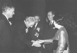 Frederick Lowy at a fundraising dinner in Hong Kong