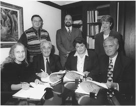 Frederick Lowy et al. at Concordia University Part-Time Faculty Union (CUPFA) contract signing