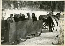 Sir George Williams's Winter Carnival Sleigh Ride