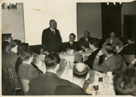 Kenneth Norris Speaking in a Meeting