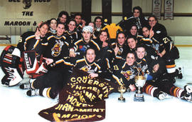 Stingers women's hockey team wins Theresa Humes Tournament