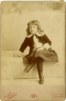 Harold Hingston aged 3 1/2 yrs.