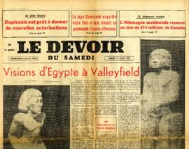 Visions d'Égypte à Valleyfield