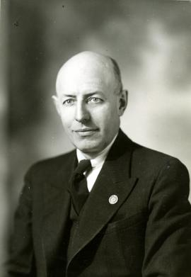 Portrait of Henry F. Hall