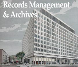 Go to Concordia University Records Management and Archives