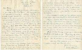 Letter from Walter P. Percival