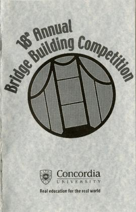18th Bridge Building Competition