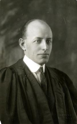 Henry F. Hall in Academic Dress