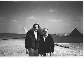 Nabil Esmail and Frederick Lowy in Egypt