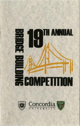 19th Bridge Building Competition