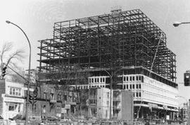 Construction of the Hall Building