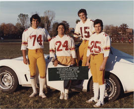 Concordia Stingers Football Co-Captains, 1980